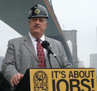 Gary LaBarbera, President of the Building and Construction Trades Council
