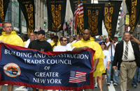 Gary LaBarbera Building Trades Presdient and Members