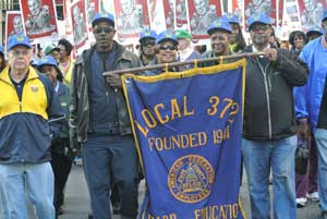 Local 372 joins NY unions on May Day