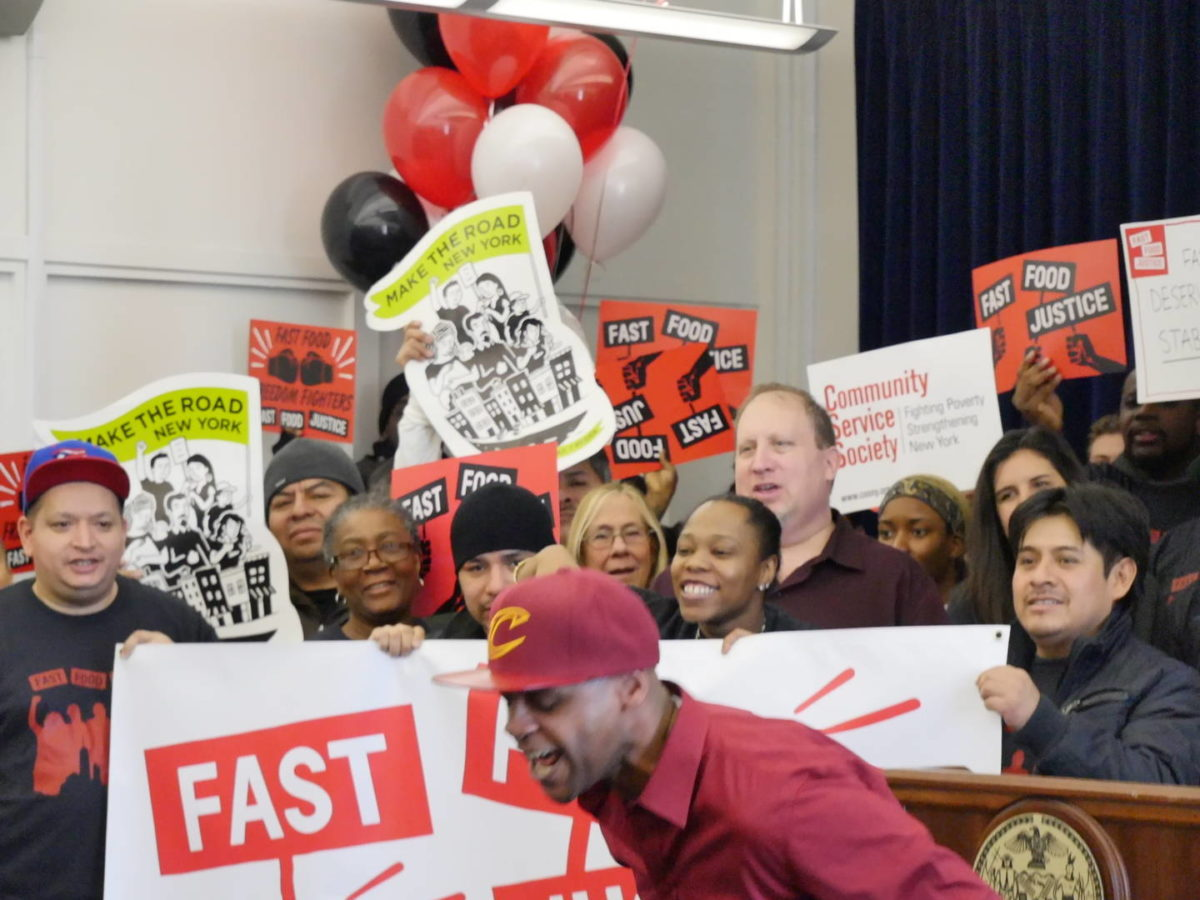 Years of Sustained Pressure Are Paying Off for NYC's Fast Food Workers