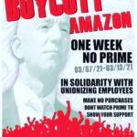 Amazon Boycott Gets Underway as Employees in Alabama Continue Historic Unionization Drive